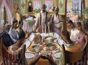 black thanksgiving dinner quot the blessings series quot by john holyfield