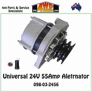 Alternator 24v 55amp Bosch Type