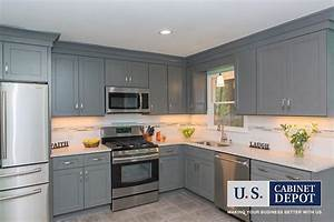 Buy Shaker Gray RTA (Ready to Assemble) Kitchen Cabinets