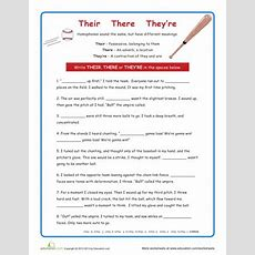 Their There And They're  Activities, Studentcentered Resources And Student