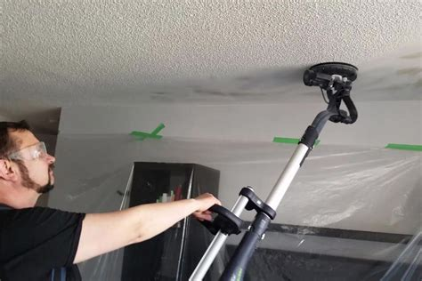 popcorn ceiling removal cost prices pictures