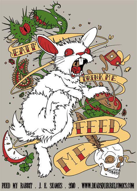 feed  rabbit  jojo seames  deviantart