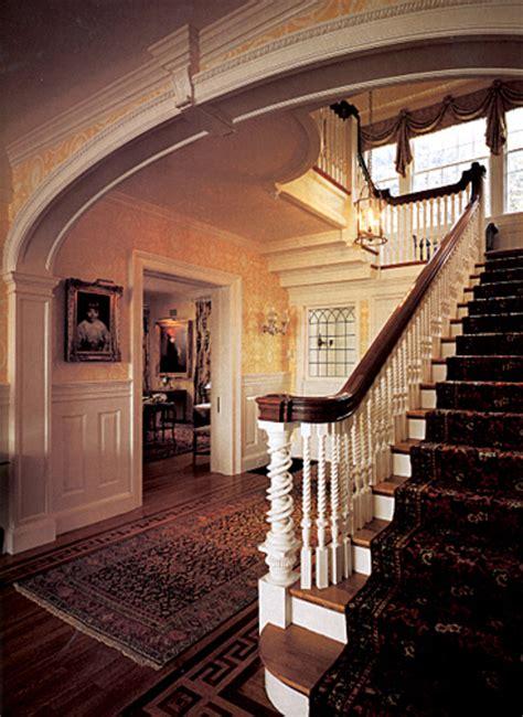 colonial revival interior design restoration design