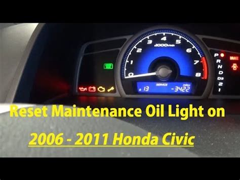 how to reset maintenance light on 2011 toyota camry how to reset maintenance light on 2009 2011 honda