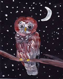 Simple Art Project Ideas: Owl Painting