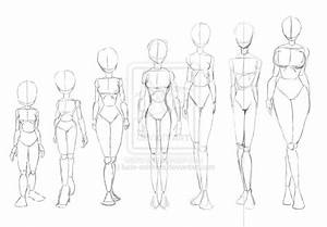 different types of skinny wome by lucio-ashihara ...