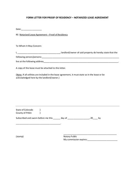 colorado dmv non resident form proof of residency letter how to write a letter of proof