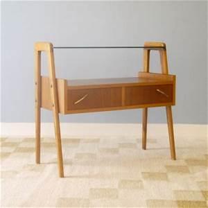 Meuble Scandinave Vintage : petit meuble vintage rangement teck la maison retro ~ Teatrodelosmanantiales.com Idées de Décoration