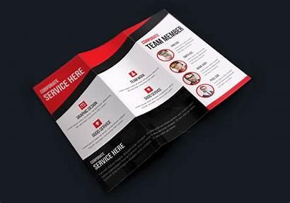 Brochure Fold Tri Creative Modern Texas Brochures