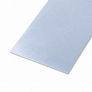 Tole Galvanisée Pour Remorque : t le lisse acier zingu x cm x ep 0 5 mm ~ Dailycaller-alerts.com Idées de Décoration
