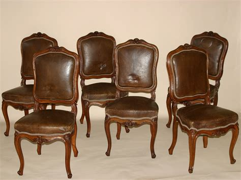 chaises louis xv set of six louis xv style chaises for sale