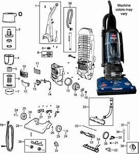 Bissell 6594 Powerforce Bagless Upright Vacuum Cleaner Parts