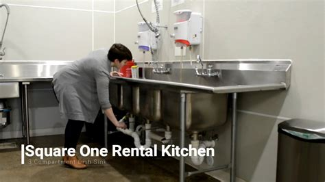 square   compartment sink youtube