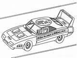 Nascar Coloring Printable sketch template