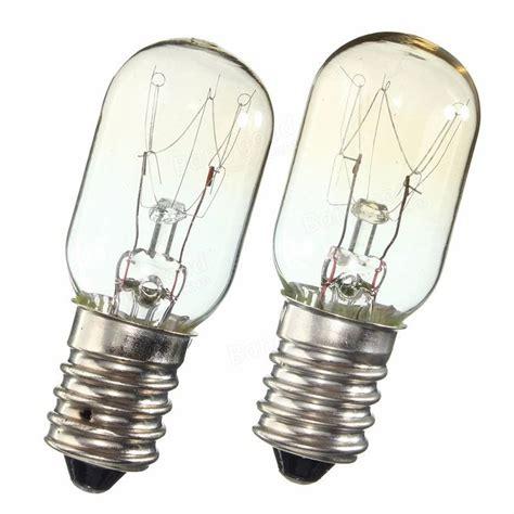 5x e14 15w 25w light bulb glass heat resistant l bulb