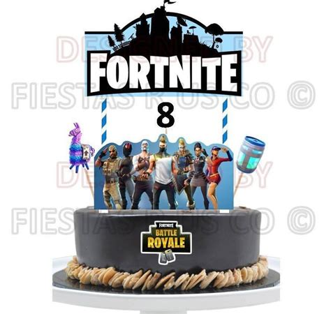 cake toppers  fortnite cake topper season