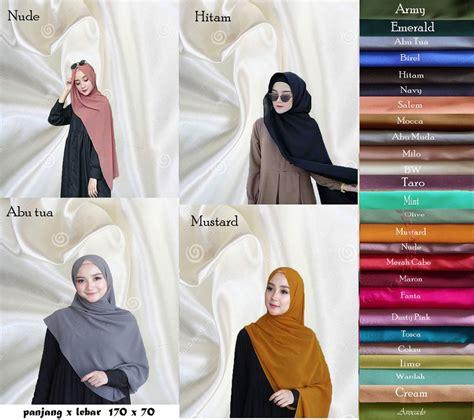 jual jilbab hijab kerudung pashmina nisa sabyan diamond  lapak el lucky store iculuky