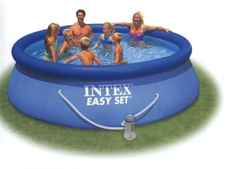 up pool 366x91 intex easy set up pool 366x91 cm poolfolie