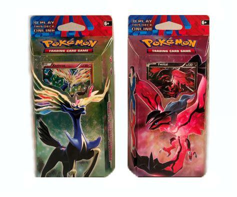 Pokemon Xy Theme Deck  Set Of 2  Da Card World