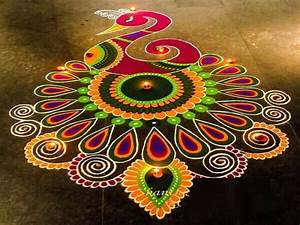 Best Rangoli Designs For Diwali 2017 | Free Hand Rangoli ...