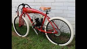 Indian Board Track Racer Replica Motorized Bicycle Bike