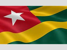 Flying Flag Of TOGO LOOPED Stock Footage Video 909325