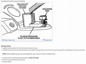Crankshaft Position Sensor  Where Is The Crankshaft
