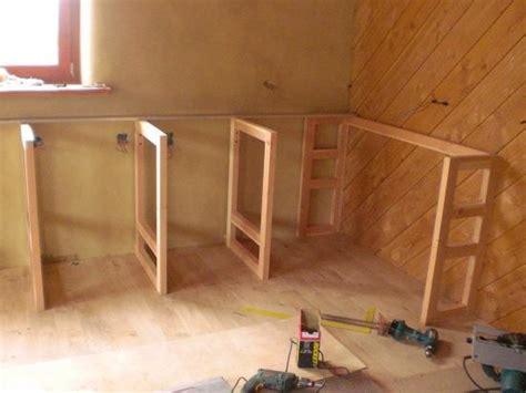 fabriquer meuble cuisine plan de cuisine bois cuisine meuble noir plan de travail