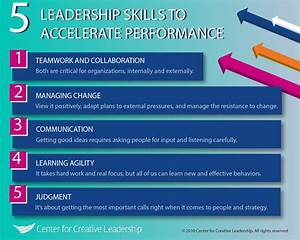 5 Leadership Skills That Will Accelerate Performance