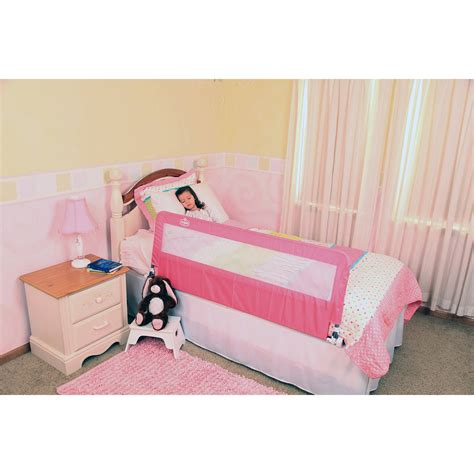Bed Handrail - regalo hideaway bed rail pink walmart