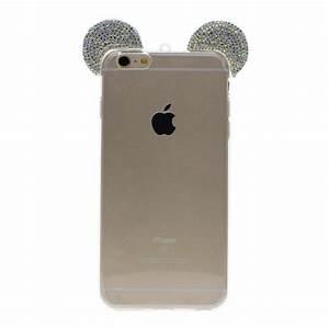 Iphone 1 Ebay : fashion mickey mouse case rhinestone ears cell phone cover ~ Kayakingforconservation.com Haus und Dekorationen