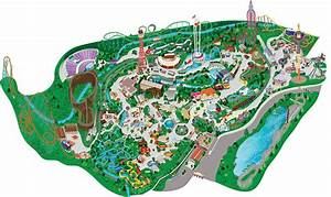 Park Map | Guide to Six Flags over Texas