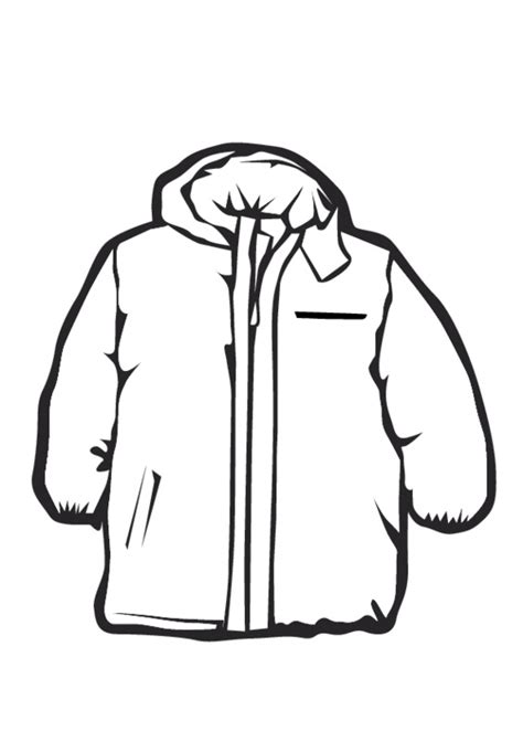 men winter jackets coloring pages  kids