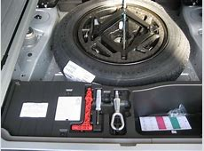 Spare tyre on E70? Xoutpostcom