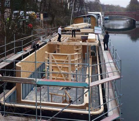 Wohnen Auf Hausboot by Hausboot Auf Dem Eilbekkanal In Hamburg My Future
