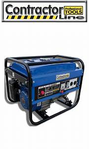 Contractor Gen4000  03237 Portable Generator Instruction