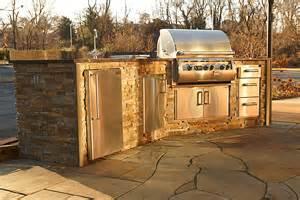 Kitchen Island Grill Outdoor Kitchens Charlottesville Richmond Va Wooden Sun