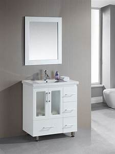 Narrow bathroom vanities with 8 18 inches of depth for How deep is a bathroom vanity