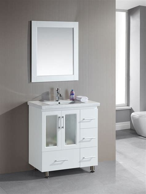 "32"" Stanton Single Bath Vanity   White"