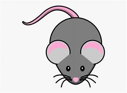 Mouse Clipart Grey Clip Pink Transparent Clker