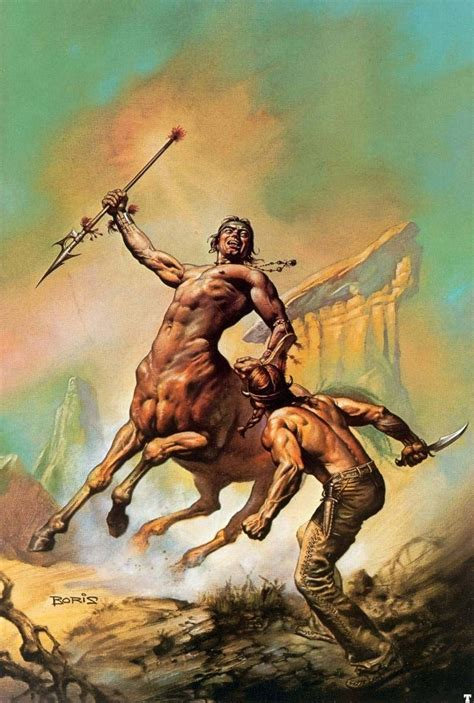 boris vallejo centaur fighting human tags centaurs