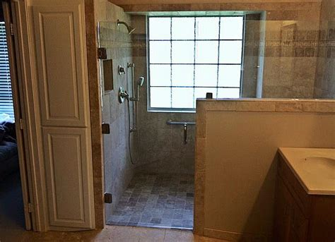 bathroom remodel   compliant shower remodeling