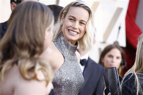brie larson   annual oscars event  los angeles