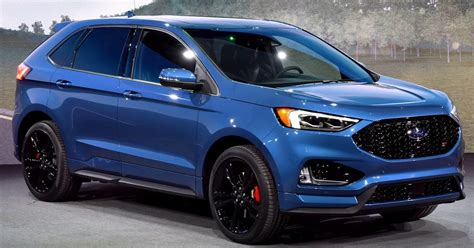 american jeep 2019 ford edge st brings a class leading twin turbo v6 to