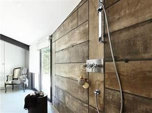 Mur Interieur En Bois De Coffrage : le on de d co comment cr er un effet bois au mur ~ Premium-room.com Idées de Décoration