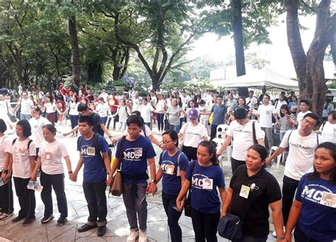 filipino youth joins global movement  climate action