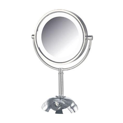 jerdon model hl8808cl 8x led lighted vanity mirror