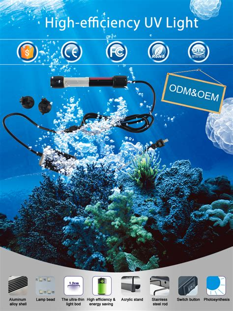 Uv Len Aquarium by Free Sle High Quality 6w Aquarium Uv Sterilizer