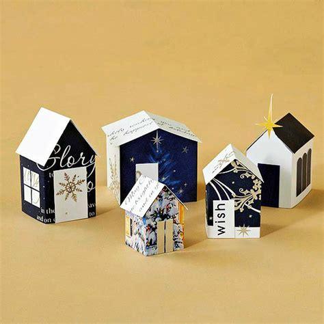 christmas paper crafts ideas for upcycling christmas cards interior design ideas ofdesign