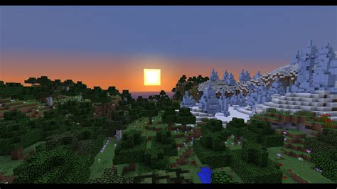 ice spikes  flower forest   spawn minecraft seed  youtube